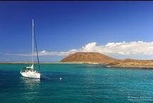 Fuerteventura, Canary Islands / Long and white beaches, a quiet place to enjoy your holidays: this is the paradise of Fuerteventura