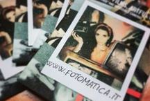 PELLICOLE ISTANTANEE  / Pellicole istantanee per macchine fotografiche Polaroid IMPOSSIBLE PROJECT e FUJI  / by Fotomatica  www.fotomatica.it