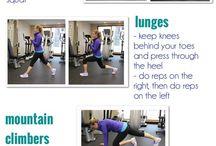 Female Exercise / Female exercises
