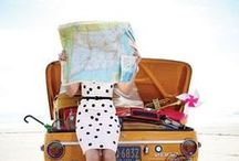 Let's Travel / Going on holidays and visiting different countries is a wonderful experience, so let's travel!