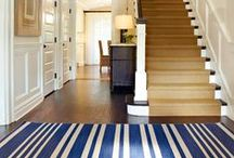 Stanton off and running! Stair Runners / Runners are a great way to dress up a stairway and it's also a clever way to store things for your home.