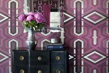 Color of the Year: Radiant Orchid / Pantone's 2014 Color of the Year is truly radiant. Here are some ideas and inspiration on how to warm your home up with it.