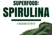 Organic Spirulina / Spirulina is another green superfood that is full of important nutrients