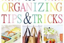 STORAGE/ ORGANIZATIONAL IDEAS / How to organize anything and everything in your home. / by JACQUELYN GUERRA