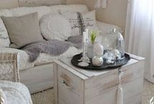 Decor and Home / Home, cozy, french, country, cottage, shabby chick, functional, relax, #kickofyourshoes, hospitality, laugh, enjoy, entertain...
