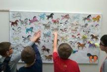 plastyka w szkole / prace plastyczne moich uczniów; dziecięca twórczość