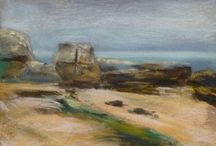 Scotland - pastel paintings