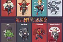 Marvel & DC / Marvel & DC