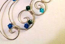 drátkované  šperky