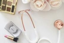 Rose Gold and Gold Stethoscopes! / Rose gold and 22k gold stethoscopes for the most on-trend clinicians!
