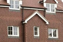 Rosemary Clay Classic / The Rosemary name is synonymous with quality clay plain tiles. For over 175 years Rosemary has been adding character to British roofs.