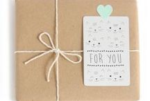 Carterie & Emballage / Wrapping & Cards