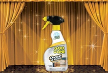Kitchen Clean-up / Removing kitchen grease can be a frustrating and time-consuming task. Goo Gone® Foaming Kitchen Degreaser has grease cutting foam that clings to surfaces and breaks down the toughest baked-on grease and food faster – without harming surfaces or leaving a greasy residue.