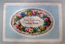 vintage rose prints