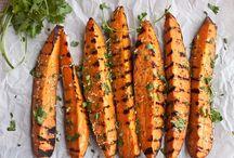 Hot vegetables / Varma tillagade grönsaker