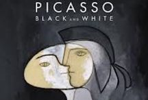 PICASSO : Black and White, Guggenheim Museum.
