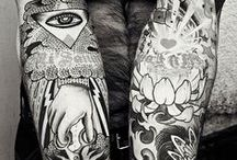Tattoos / I LOVE tattos. Maybe one day I will get one. No, sorry, one day I will DEFINITELY get one. ;)