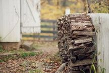 Rural inspiration / Log cabins, rural living - inspirational photos