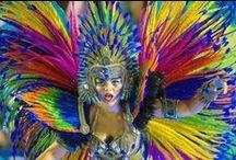 Principales eventos en Río de Janeiro / Imágenes de los principales eventos que se realizan en la ciudad de Río de Janeiro todos los años y que vale la pena vivir por lo menos una vez en la vida