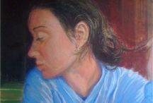 Portraits à Claudia / Des portraits à Claudia Palmiotta par moi-même ~ 羞龍