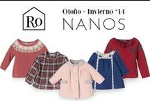 NANOS Otoño-Invierno 2014 / Nanos es una marca de ropa infantil con mas de 50 años de experiencia. Cuida al máximo cada detalle de su ropa y nos presenta una gran variedad de ropa y complementos para bebés, para niños y para niñas.