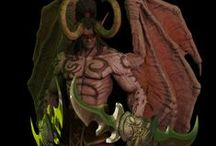 Illidan Stormrage project / Hi guys this is my new personal project  Illidan Stormrage is a World of Warcraft character I will made my version... :)
