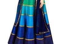 Indian / Sarees, blouses, lehenga choli and so forth. / by Maria Harris