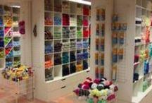 Yarn shops / Garn og hobby forretninger