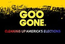 Cleaning Up America's Elections / In 2016 Goo Gone is helping Clean Up America's Elections one bumper at a time.