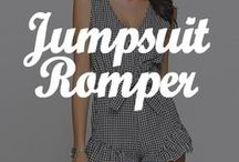 ❤ JUMPSUIT & ROMPER ❤ / A mix of DRESSLINK'S newest rompers and jumpsuits