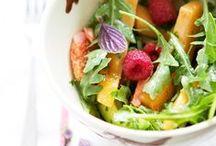 Salades & tartines / Salad & toast