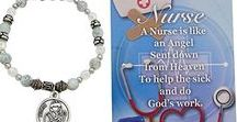 Nurse Appreciation Gifts / A wonderful way to say Thank You to a special nurse who has touched you is a gift of Jewelry.  We have chosen some beautiful inspirational items that will touch her heart.