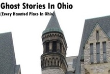 Haunted Places In Ohio / Complete list of haunted places & history in Ohio and how to ghost hunt. Have you ever dreamed of being a ghost hunter? How about visiting every haunted place in your territory? This book is everything you need to get you started in the world of ghost hunting! / by Haunted Places
