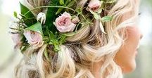 Wedding | Bridal Hair / When it comes to your wedding day, your hair is just as important as the dress. Get inspired with some of our favourite bridal hair looks pinterest has to offer!