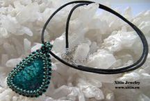Xitin Jewelry Choker, Necklace, Collier / Selfmade jewelry