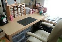 Organize ideas in my stamp room / Stampin Darla's Stampin Cave