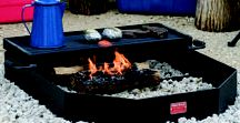 Campfire Rings by Pilot Rock / No matter what you call it -a fire ring, a fire pit, a firering grill or even a ground grill - the Pilot Rock campfire ring from R.J. Thomas Mfg. offers you the pleasure of enjoying the campfire plus the ability to cook over the open fire.