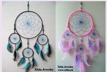Xitin Jewelry Dreamcatchers / Nice selfmade Dreamcatchers.