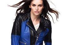 Sezonun deri ceket modası / 2013 İlkbahar-yaz kadın deri ceketler