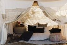 Glorious glamping / All things beautiful for a heavenly glamping space