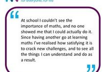Stories & Case Studies  / Hear from others who have already taken part in maths courses for adults...