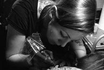 Katalin Berinkey Guest Artist / Tattoos