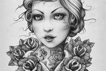 Katalin Berinkey Sketch and Art