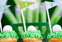 Throwing your Golf themed Party! / At Sunnybrae Golf Club we have beautiful, newly renovated Banquet Facilities for your parties of up to 144 people! Here are some DIY ideas for your golf-themed party!