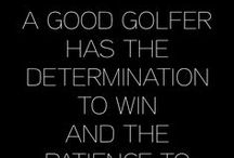 Golfing words of wisdom / At Sunnybrae Golf Club, we LOVE golf. You too?