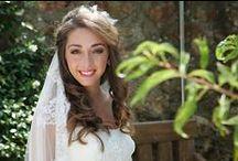 Novias Reales || Chelo Escobar / Trabajos de maquillaje y peluquería de Chelo Escobar para novias.