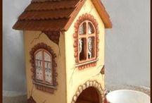 Декупаж. Чайные домики, коробочки для сладкого. Идеи / Decoupage. Ideas. Tea house. Sweets. DIY / Идеи декупажа и декорации чайных домиков, коробочек для сладкого, кухни. Для вдохновения / Decoupage. Ideas. Tea house. Sweets. DIY