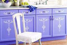 Декупаж мебели, декорирование