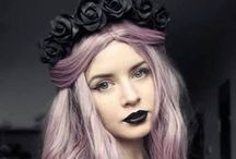 Hair Drawing Inspo / Hairstyles I find interesting for use in my art.