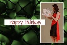 Duelling Designs: November Holiday Dress Challenge / Photos from this month's design challenge.